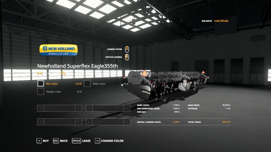 FS19 Bones NewHolland Harvester Pack VE Update v2 0 FS 19