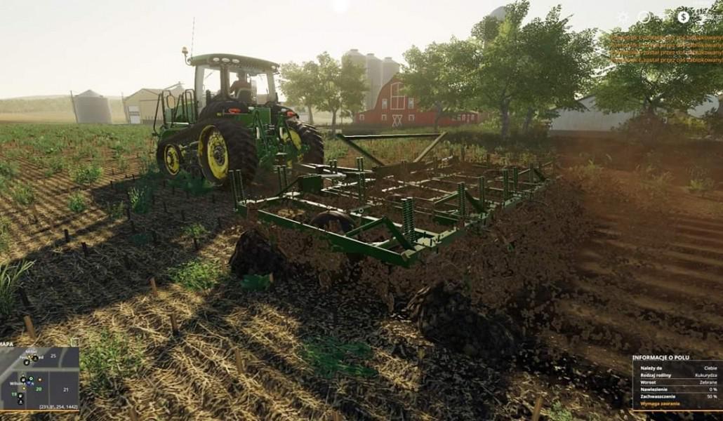 John Deere 1600 chisel plow v1 0 FS 19