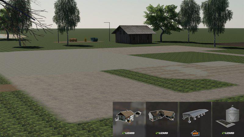 Empty Map Start Map FS19 v1 0 FS 19