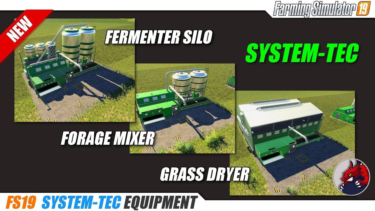 System-Tec Cow Mixer Station (English Version) v1 0 FS 19