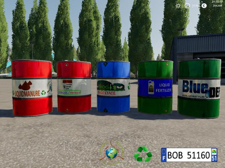 FS19 Liquid Barril BY BOB51160 v1 0 2 FS 19