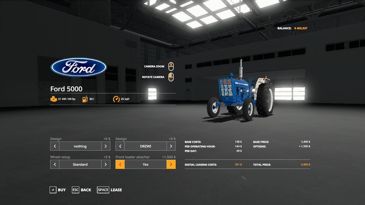 Ford 5000 Wip V1.0 FS 19