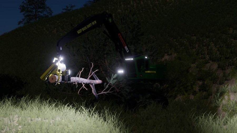 John Deere 959MH Harvester v1 0 FS 19