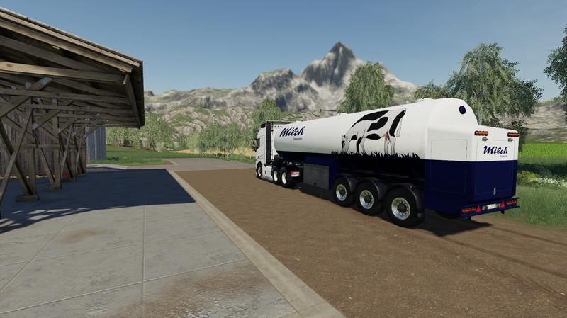 Milk Transport Semi Trailer V1 0 Fs 19