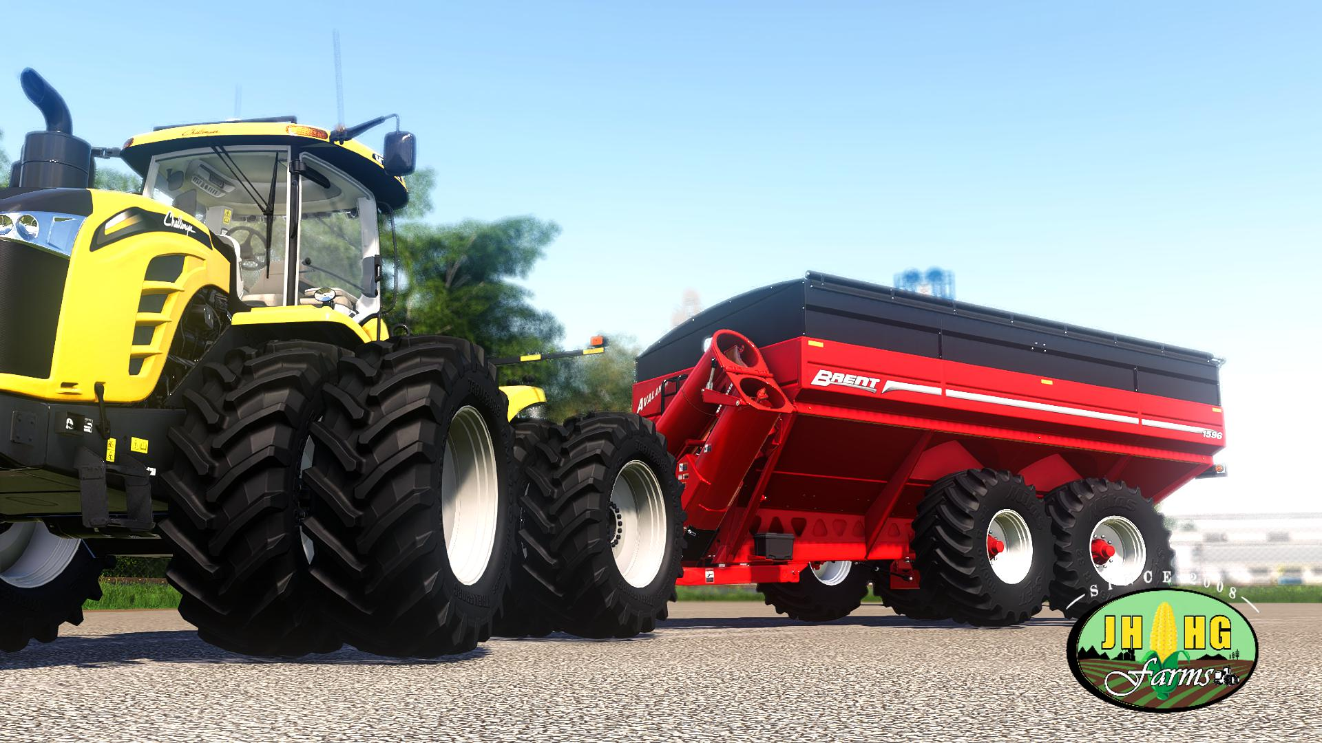 Brent Avalanche 1596 Grain Carts V2.0 FS 19
