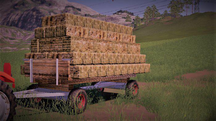 Bale platform (autoload) v1 0 FS 19