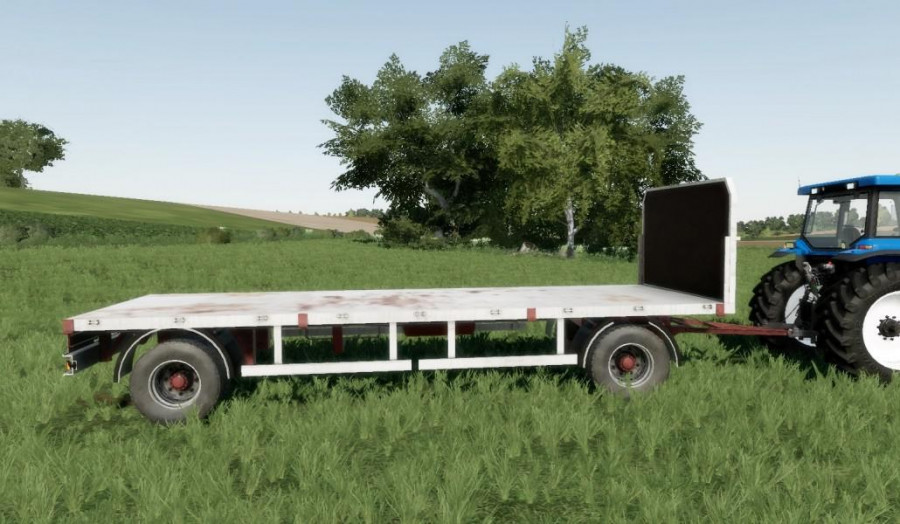 Homemade bale trailer SUN 2005 v1 0 FS 19