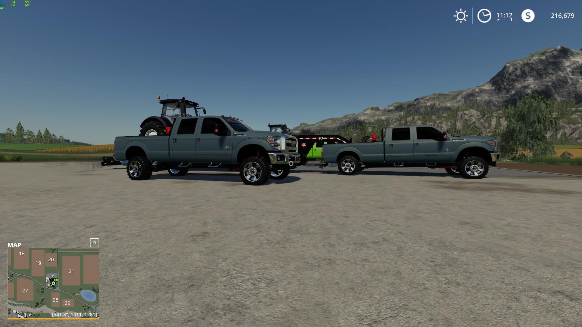 Ford Super Duty v1 0 FS 19