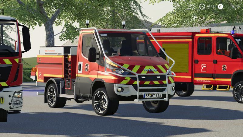 Iveco Daily (Kaltenkirchen Fire Department) v2 0 FS 19